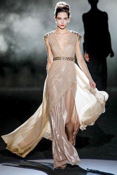 Badgley Mischka - este es el vestido que más me gusta ! impresionante. Pret a Porter 2013-14. New York Fashion Week