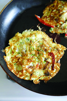Chicken Egg Foo Young Recipe - Pickled Plum Food And Drinks Vegetable Egg Foo Young Recipe, Egg Fu Young Recipe, Chicken Egg Foo Young Recipe, Shrimp Egg Foo Young, Recipe For Egg Foo Yung, Vegetarian Egg Foo Young Recipe, Egg Recipes, Chicken Recipes, Cooking Recipes