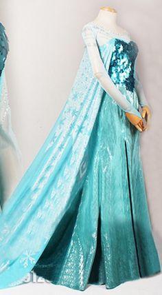 Last Minute Frozen Elsa Halloween Costumes for Teens