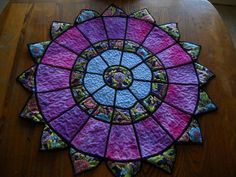 Stained Glass Table Center