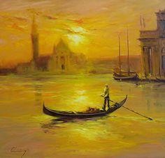 759 Venetian Melody - Oil