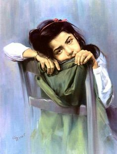 WOW    painting by Iranian  artist   Morteza Katouzian     14  Art     Discover ideas about Sad Paintings
