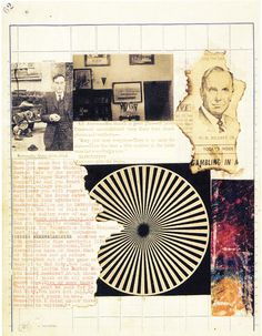 Include Me Out: The Third Mind - William Burroughs & Brion Gysin - Collages