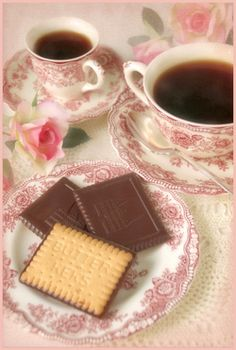 "Tea & Cookies on ""Bristol"" China (by Dianne Sherrill Images)"