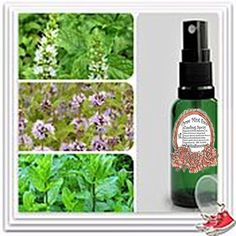 Three Mint Face Cooling Spray   Sports spray for  face
