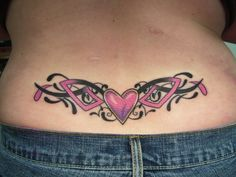 6cb7ccdee5ced tramp stamps tattoos   25 Cool Tramp Stamp Tattoos   CreativeFan Tramp Stamp  Tattoos, Sexy