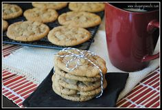 Maple Bacon Cookies- sweet and salty at it's best! @shugarysweets #cookies