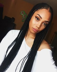 "914 Likes, 7 Comments - Loredana Ituah (Loredana Ituah) on : ""Diary✨ (Hair: godsfingers)"" Click the image now for more info. Twist Braids, Twists, Braids Cornrows, Long Cornrows, Side Cornrows, Hair Colorful, Curly Hair Styles, Natural Hair Styles, Protective Styles"