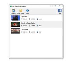 4K Video Downloaderes un programa disponible para Windows, Mac y Linux con el que seremos capaces de descargar vídeos de la red, además tiene una interfaz muy fácil de utilizar.