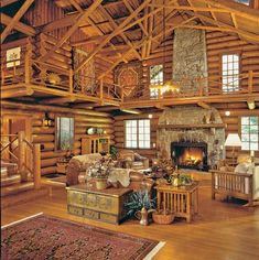 Rustic Log Cabin - fun family adventures #RusticLogFurniturehome