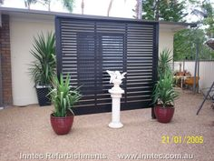 Pool Privacy Screen Ideas garden screens add star quality | patio privacy screen, patio