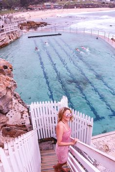 The bronte rock pool in Sydney - an epic one among Sydney Instagram spots