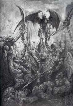 Simon Bisley el arte de la Biblia siniestra - Friki.net