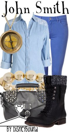 John Smith from Pocahontas inspired outfit by DisneyBound