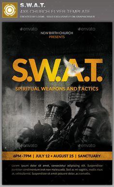 S.W.A.T. Church  Flyer Template