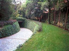 Sistemazione Parco E Autorimessa Interrata In Villa Veneta   Studio Ricatti