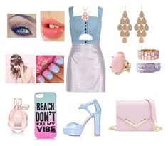 """""""#148"""" by lucieprettyliars ❤ liked on Polyvore featuring River Island, Chicnova Fashion, Topshop, Juicy Couture, Viktor & Rolf, Cotton Candy, Charlotte Tilbury, Allurez, Alexandra Beth Designs and Lucifer Vir Honestus"""