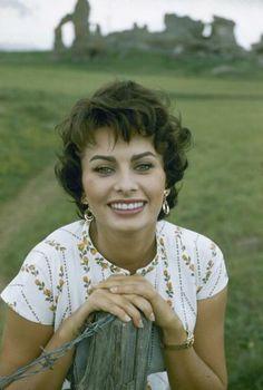 Sophia Loren by Loomis Dean