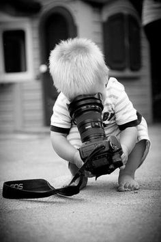 Black White Photography kids children This is by far the cutest thing I have ever seen! #bnw