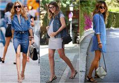 Como usar jeans no verão