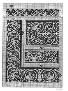 Gallery.ru / Фото #60 - Celtic Charted Designs - thabiti. Celtic birds.