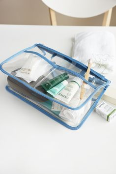 Transparent Dual Purse Organizer Very similar to this one but not in the same colour.