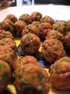 Basic all purpose meatball recipe.