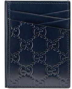 83c6d993253 Gucci Signature card case  ad  GucciWalletsMens Gucci Wallet