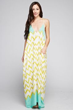 Summer Lemonade Maxi