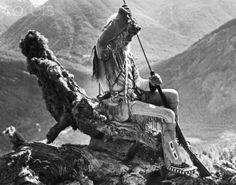 Mountain men of Washington State | Mountain Man Mat Olason Loading Muzzle-Loader