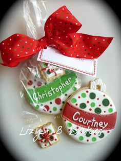 Inspiration Pictures of Christmas Cookies ~ Lizy B: Personalized Galletas de Navidad!