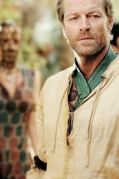 Iain Glen is Ser Jorah Mormont