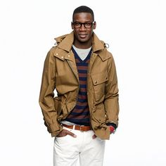 Shop the Stonehall jacket at J.Crew and see the entire selection of Men's Outerwear. Love My Man, Well Dressed Men, Gentleman Style, My Guy, Men Looks, Swagg, Black Men, Dress To Impress, Style Me