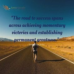 Prepare for the journey. Success comes from consistent greatness. 👉 www.aerohawgle.com ✈✈✈