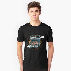 'Monkey dumbbell' T-Shirt by Ococha Nerd Gifts, Space Station, Dress For Success, Funny Design, My T Shirt, Tshirt Colors, Chiffon Tops, Classic T Shirts, Shirt Designs