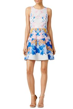 Watercolor Dive Dress by Hunter Bell