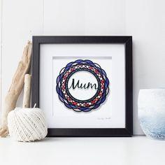 Deep Box Frames, Turquoise Background, Red Riding Hood, Paper Cutting, Zentangle, Mosaic, Mandala, Handmade Items, My Etsy Shop