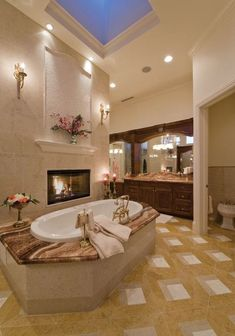 20+ Beautiful And Romantic Bathroom Ideas For Luxury Home