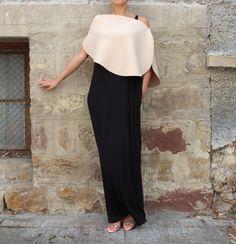 Black Caftan, Maxi Dress , Extravagant Dress , Oversized dress, Sleeveless dress , Plus size dress, Party Dress, Party dress by cherryblossomsdress on Etsy https://www.etsy.com/uk/listing/246976176/black-caftan-maxi-dress-extravagant