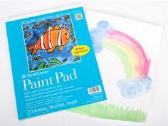 Paint Paper Pad - Paper - DIY Materials | Kids Crafts & Activities for Children | Kiwi Crate $4.95