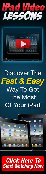 iPad Video lessons - Click here!