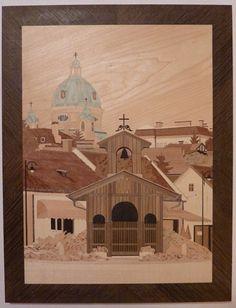 Austria - Berndorf im Hintergrund die margaretenkirche