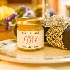 Honey Jar Wedding Favour