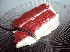 Truly the best red velvet cake recipe that I've ever made in my life!  A friend's mom recommended it to me after testing out many other recipes, and this one was the winner.