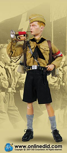 Hitler Youth action figure.