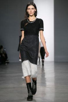 Love this look from Calvin Klein.   Front Row to Fashion Week - Interactive Feature - NYTimes.com