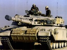 Challenger 1 of the Life Guards in the Gulf War, 1991.