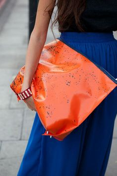 tangerine can be amazingly combined with so many other colors such as: fuchsia, teal, turquoise, aqua, red and many more