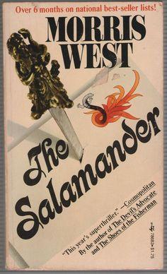 The Salamander By Morris West - Paperback 1975 Pocket Books