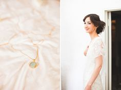 Azalea by Jenny Packham and a Delicate Floral Crown for a Bohemian Meets Edwardian Style Wedding At Emmanuel College, Cambridge | Love My Dress® UK Wedding Blog